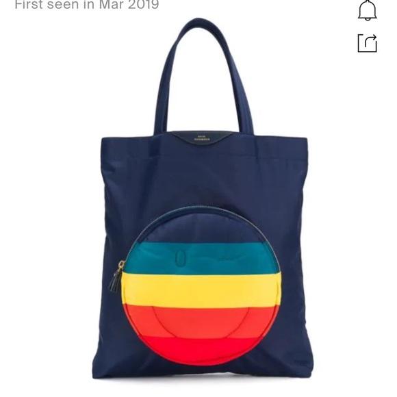 Anya Hindmarch Handbags - Anya hindmarch chubby Wink Rainbow tote
